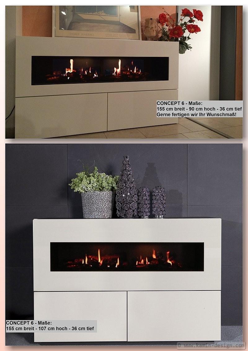 sideboard concept 6 faber dimplex opti v2 auch als ethanolkamin. Black Bedroom Furniture Sets. Home Design Ideas