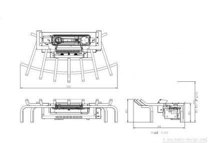 Feuerkorb-KDS-Abmessungen