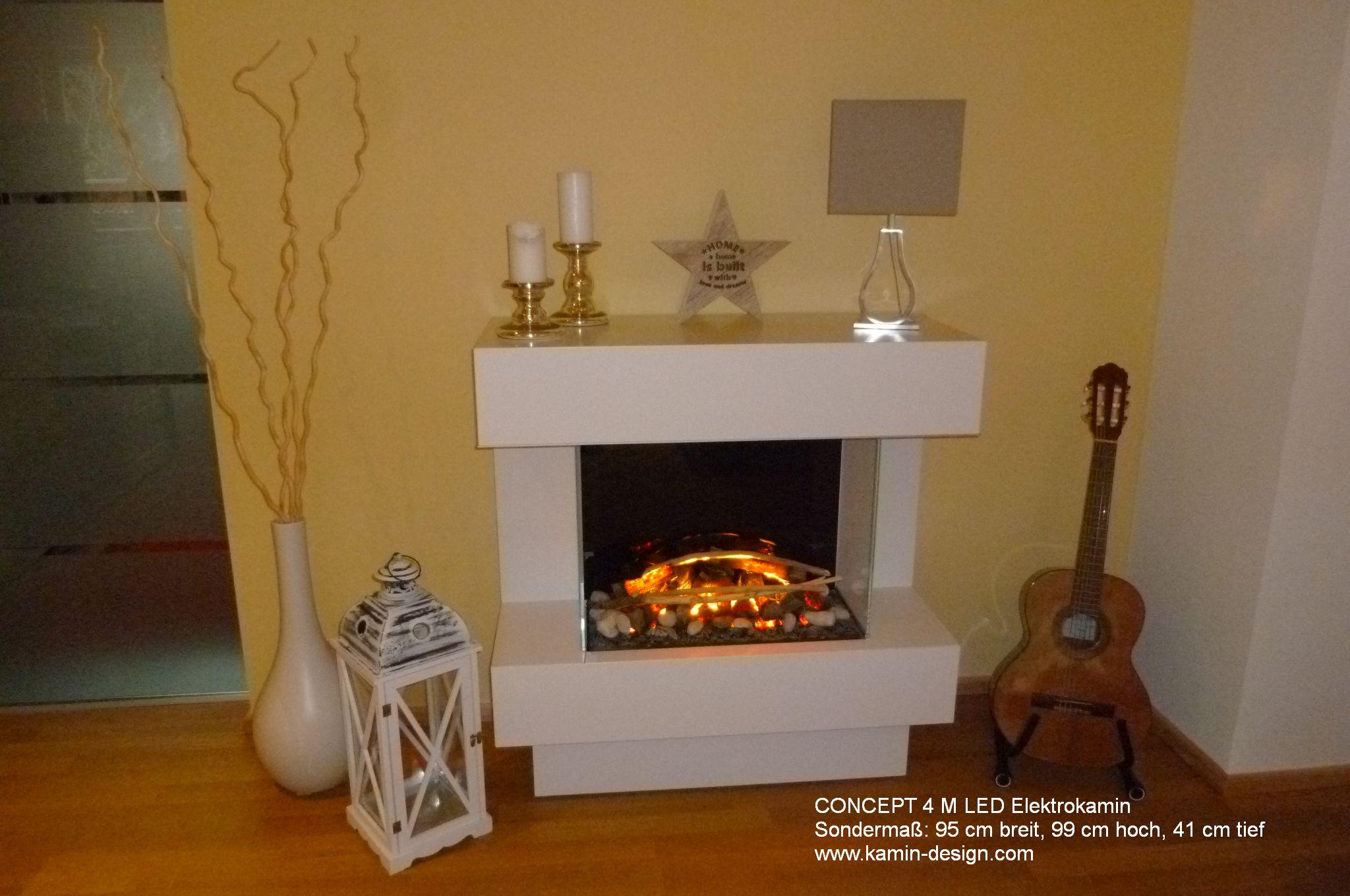 elektrokamin concept 4 m led 800 mit opti myst elektrofeuertechnik. Black Bedroom Furniture Sets. Home Design Ideas