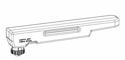 Wassertank orange für Dimplex Faber Cassette 1000 / 500
