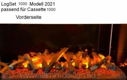 LogSet 1000 - 2021 - Holzglutauflage Cassette 1000 - Vorderseite
