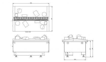 Dimplex Cassette 500R retail Kamineinsatz Opti-myst 3D