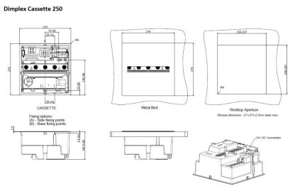 Dimplex Cassette 250 Opti-myst 3D
