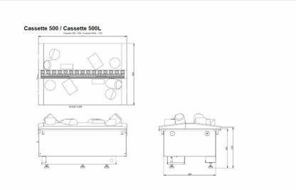 Dimplex Cassette 500 Projects Skizze