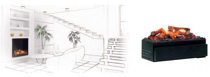 Juneau Opti-myst 3D Elektroeinsatz