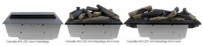 Dimplex Faber Cassette 400 LED mit Holz-Logs