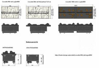 Dimplex-Cassetten-Alle-Modelle-Skizze