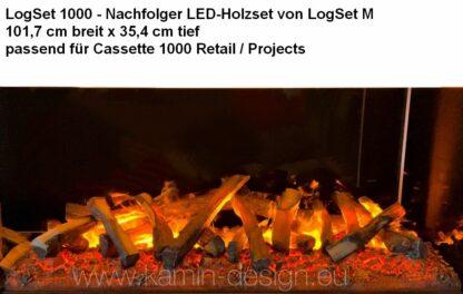 LogSet 1000 - Nachfolger LED-Holzset von LogSet M